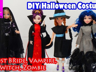Costume, DIY Halloween Costumes Descendants Mal Evie Elsa