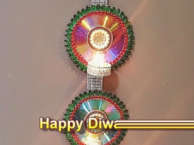DIY Hanging Diva | Diwali Decoration Ideas ( Easy and Creative)