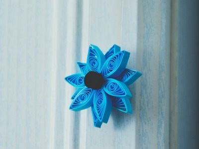 DIY Home Decoration made from Paper Quilling
