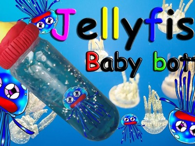 DIY How to make a Jellyfish Baby bottle toys!funny video!