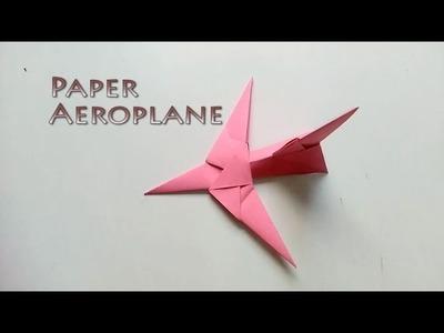 DIY - Paper Aeroplane | Arts & Crafts | Origami Art