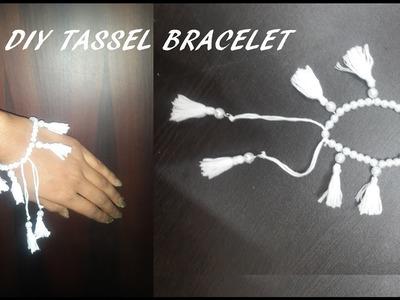 DIY Tassel Bracelet | Easy to make Tassel Bracelet | DIY Tassel | Simple and Beautiful Bracelet #3