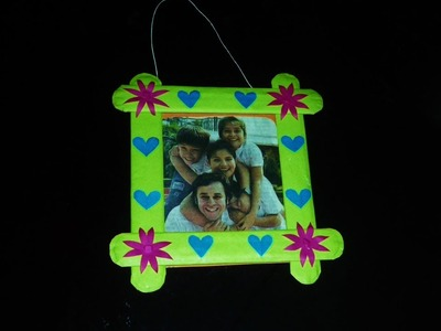 Easy DIY Photo Frame Made With Paper (Amazing Use Paper. Gift Idea)