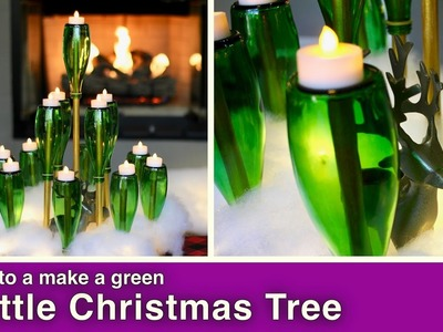 How to Make a DIY Bottle Christmas Tree