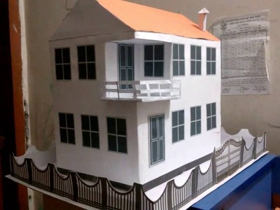 How to make a paper House just a minute.