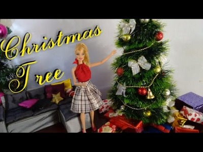 How to Make Christmas Tree for Barbie, Monster High and Ever After High Dolls