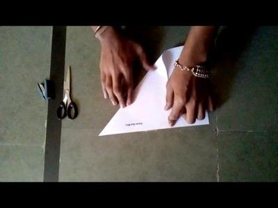 How to make paper rose पेपर का गुलाब कैसे बनाते है kya keise