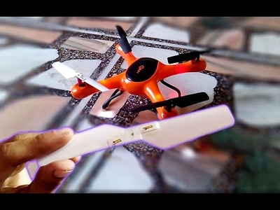 How to make wings for flying drone at home