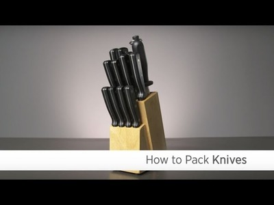 How to Pack Knives