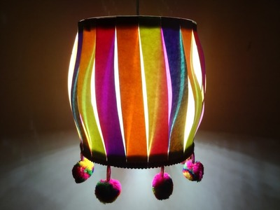 Paper Crafts (Home.Christmas Decoration Ideas): Multicoloured Christmas Lantern