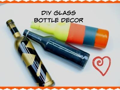3 DIY Glass Bottle Decor Ideas   Asili