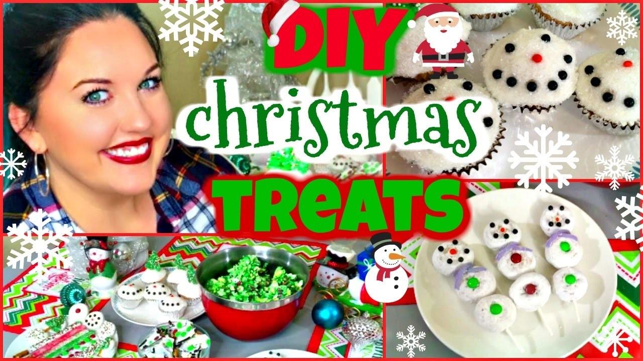 Christmas DIY Treats   Quick & Easy Holiday Party Treats  Lindssey Lew