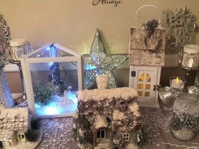 Day #1 DIY Dollar Tree Frames Holiday Scene