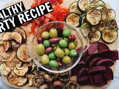 DIY Antipasti Platter. Easy Holiday Recipe