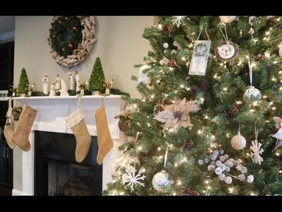 DIY: BUDGET FRIENDLY CHRISTMAS.CHRISTMAS TREE DECOR