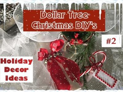 DIY Dollar Tree Christmas Decor | 6 Ideas For the Holidays