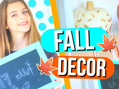 DIY Fall Room Decor 2016! Cheap and Easy!