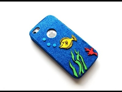 DIY Fish - Glitter Cell Case