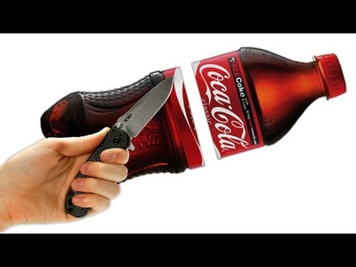 DIY Giant GUMMY Coke Bottle Shape! Fun & Easy DIY Gummy Soda Jello
