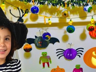 DIY Halloween Decorations Spooky Eyes