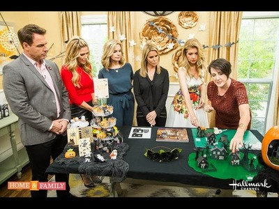 DIY Halloween Decorations with Lia on Home & Family