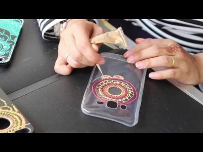 DIY Henna inspired phone case