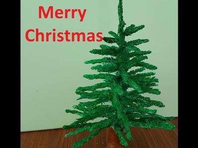 DIY || How to make Christmas tree using Clay