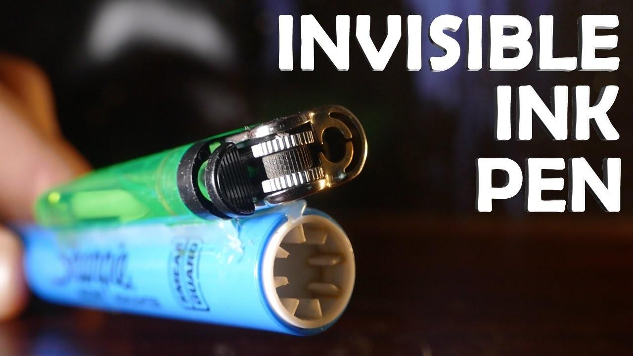 DIY Invisible Ink Pen! - Secret Message Spy Pen!!! ($2 Super Easy)