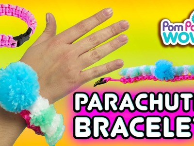 DIY Parachute Cord Bracelet with Pom Pom Wow | Official PomPom Wow