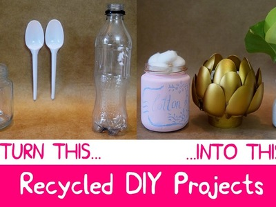 DIY Room Decor with Recycled materials at Home | Easy and Inexpensive Ideas!