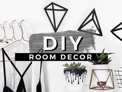 DIY Tumblr Room Decor! EASIEST DIYS EVER!