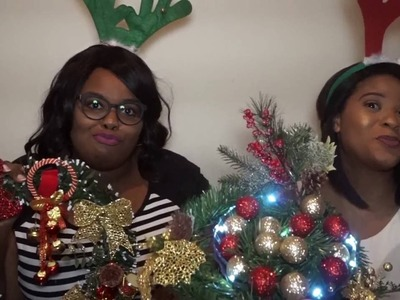 Dollar Tree DIY Christmas Decor Challenge