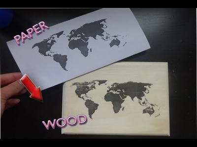 EASY DIY: Print any image onto wood + MORE Fall & TUMBLR DIY's