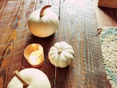 Fall home projects (DIY coffee table)