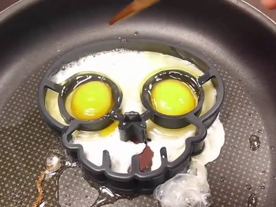 Five Little Monkeys | BINGO | DIY | How To Make Skull Fried Eggs | Learn Colors Slime Clay Combine