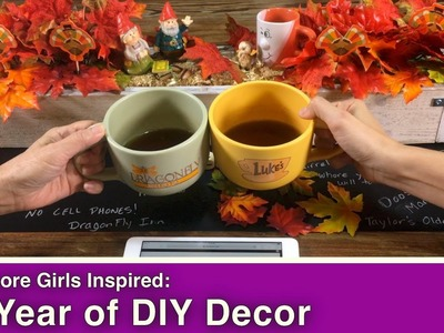 Gilmore girls: A Year of DIY Decor!