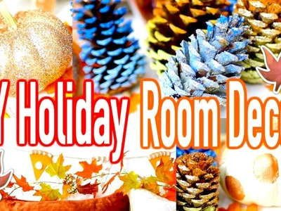 HOLIDAY DIY ROOM DECOR 2016!