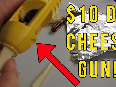 How To Make a $10 DIY Cheese gun!