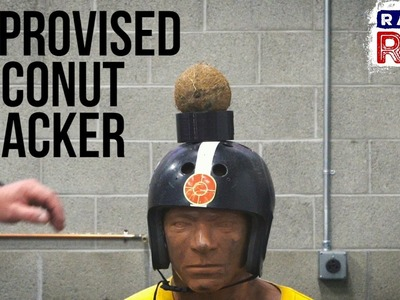 Man Hacks: DIY Coconut Cracker