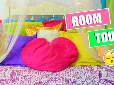 ROOM TOUR & DIY ROOM DECOR IDEAS || Curly Belle