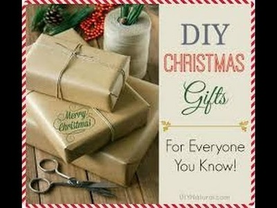 TOP 10 DIY Christmas Gift Ideas GREAT for Friends, Family And more!  Homemade Gift Ideas 18.11