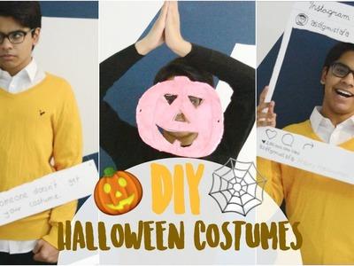3 DIY HALLOWEEN COSTUMES!. QUICK & EASY!. MEMES!