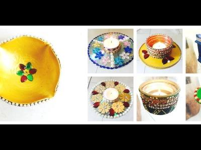 4 DIY : Latest and Trendy Diwali Decoration Ideas