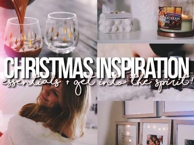 CHRISTMAS INSPIRATION 2016!. My Essentials, DIY + What To Do!