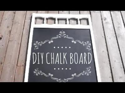 DIY Chalk Board & Paint!