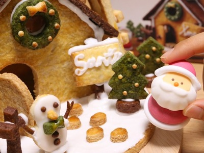 DIY Christmas Cookie House Kit