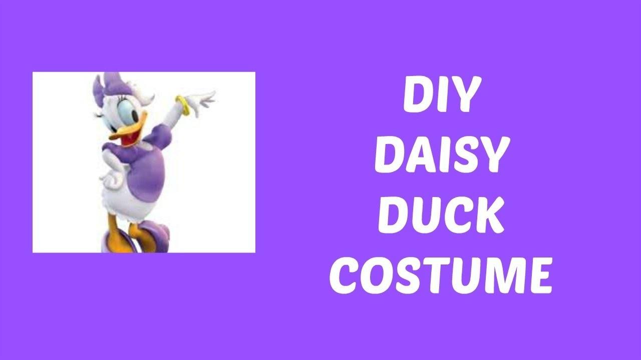 DIY Daisy Duck Costume