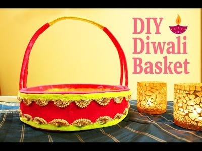 DIY Diwali Basket | Diwali Hamper | Festive basket Decoration | Gift Basket