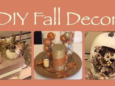 DIY Fall Decor Centerpieces