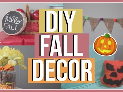 DIY FALL ROOM DECOR! | Diy American Girl Doll Halloween and Fall Room Decor! 2016